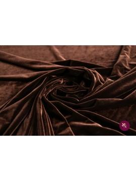 Catifea maro închis elastică