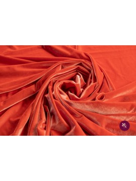 Catifea elastică orange