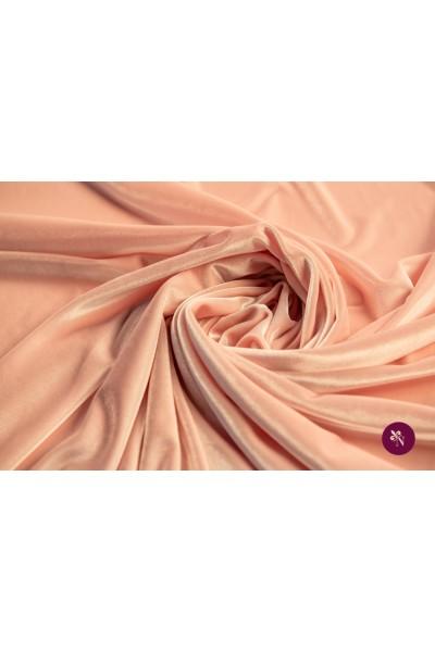 Catifea elastică roz pal
