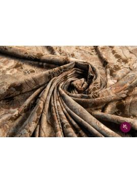 Catifea maro imprimată cu trandafiri