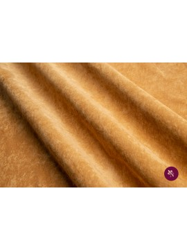 Catifea reiată galben ocru elastică