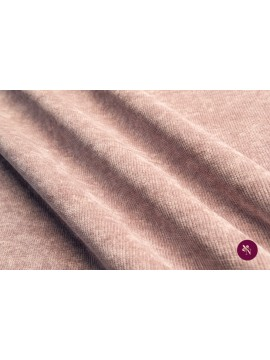 Tricot catifea roz prăfuit