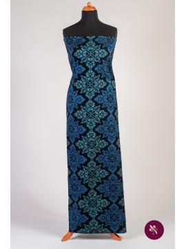 Brocart baroc bleu - albastru
