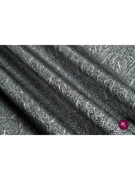 Brocart gri-argintiu