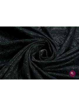 Jacquard negru elastic