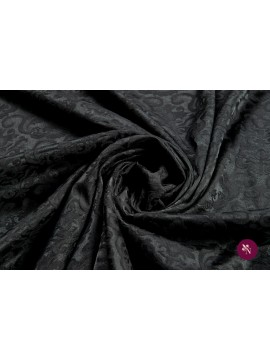 Jacquard negru baroc
