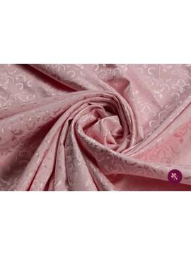 Jacquard roz pal baroc