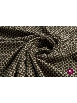 Jersey design geometric cu bumbac