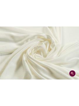 Jersey ivoire elastic