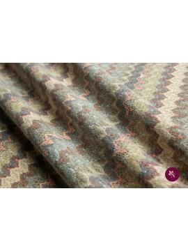 Jersey tricotat multicolor cu lână