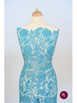 Macrame albastru turquoise