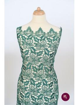 Macrame fin verde smarald