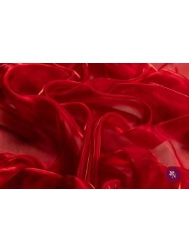 Organza roșu aprins