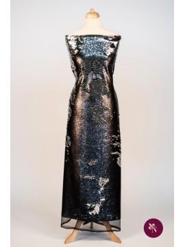 Paiete reversibile negru mat - argintiu