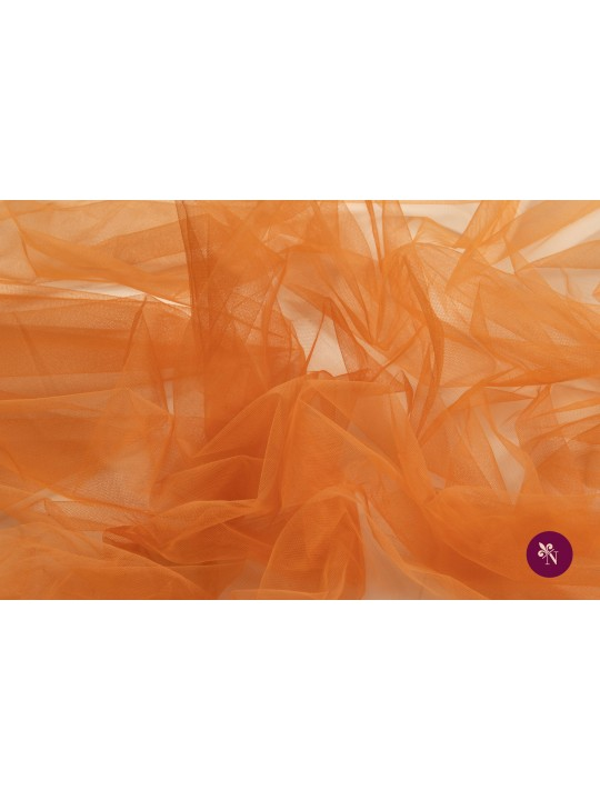 Tulle orange cărămiziu