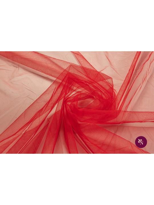 Tulle roșu cireșiu