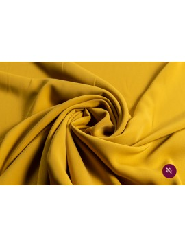 Crep galben muștar elastic