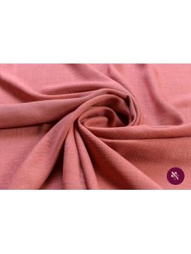 Pânză vâscoză roz plămâniu cu aspect de in