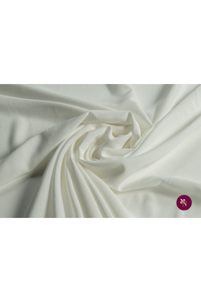 Jersey subțire alb