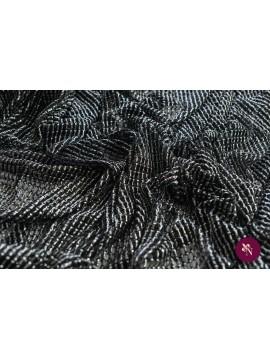 Plasă neagră - argintie
