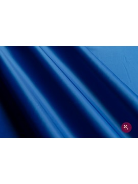Satin albastru electric