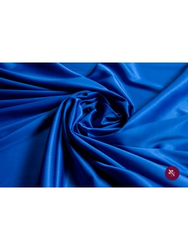 Satin elastic albastru regal