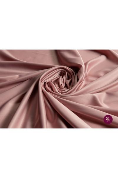 Satin elastic roz prăfuit
