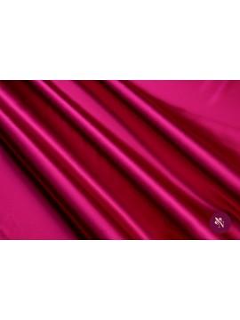 Satin magenta mătase naturală
