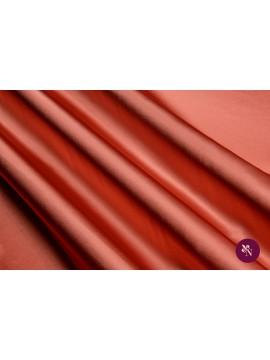 Satin roz somon mătase naturală