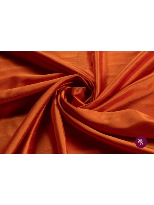 Tafta orange cărămiziu texturată