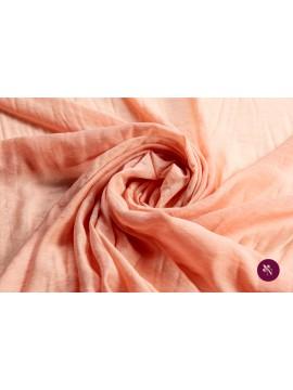 Voal chiffon roz piersică